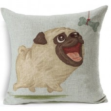 Cushion Pug Bone