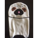 Pug Hot Water Bottle Cover Fawn