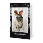 Card - Xmas Giggles Black X