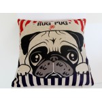 Cushion Pug Hugs