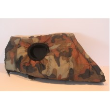 Dog Parka Camo Green- 37cm