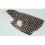 Pink Polka Dot L 40cm's